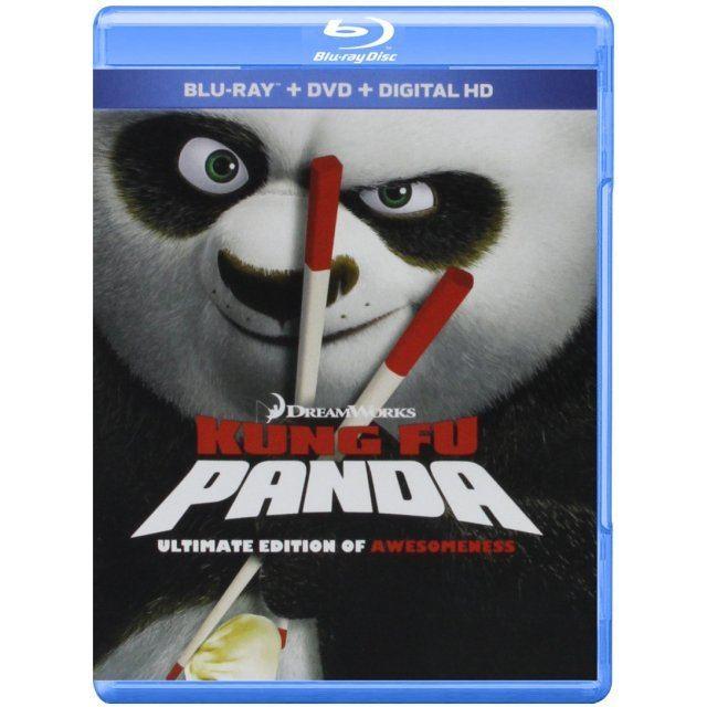 Kung Fu Panda (Ultimate Edition of Awesomeness) [Blu-ray+DVD+Digital HD]