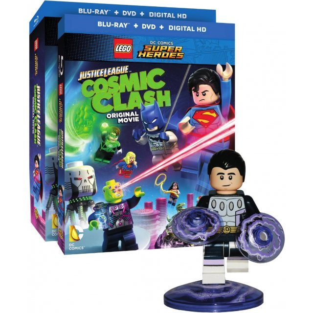 LEGO DC Comics Super Heroes: Justice League - Cosmic Clash [Blu-ray+DVD+Digital Copy]