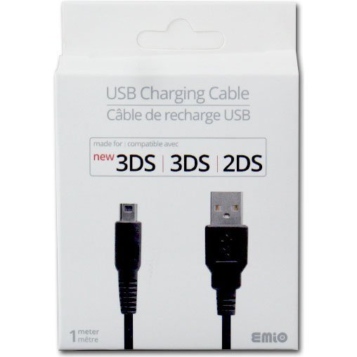 USB Charging Cable for New 3DS/3DS LL/2DS