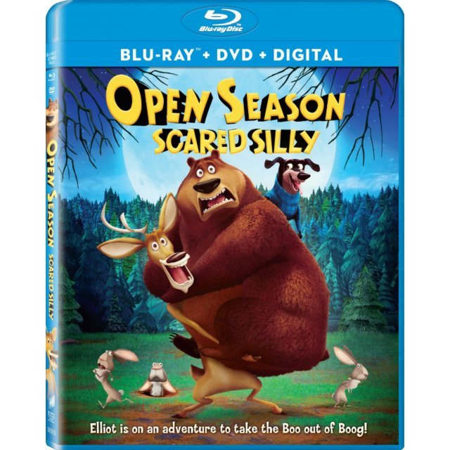 Open Season: Scared Silly [Blu-ray+DVD+Digital HD]