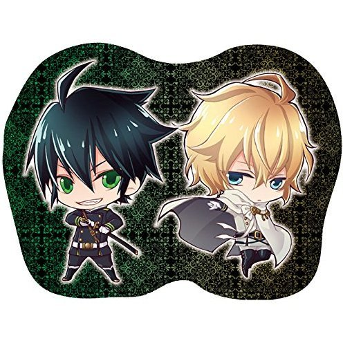 Seraph of the End Diecut Mini Cushion: Yuichiro & Mikaela