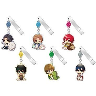 The Prince of Tennis Yurayura Clip Collection Vol. 4: Animal & Prince (Set of 6 pieces)