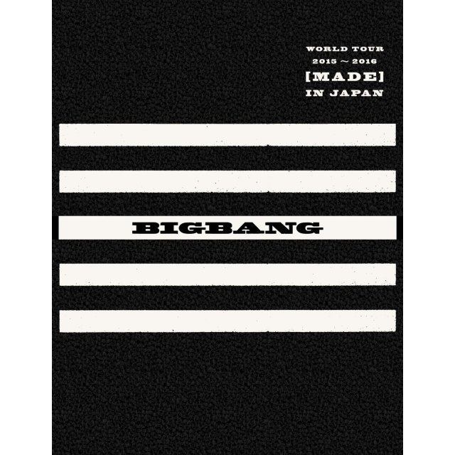 World Tour 2015-2016 [Made] In Japan [3DVD+2CD+Photo Book Limited Edition]