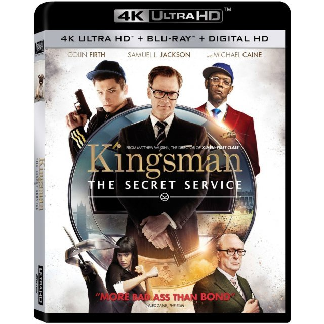 Kingsman: The Secret Service [4K UHD Blu-ray]