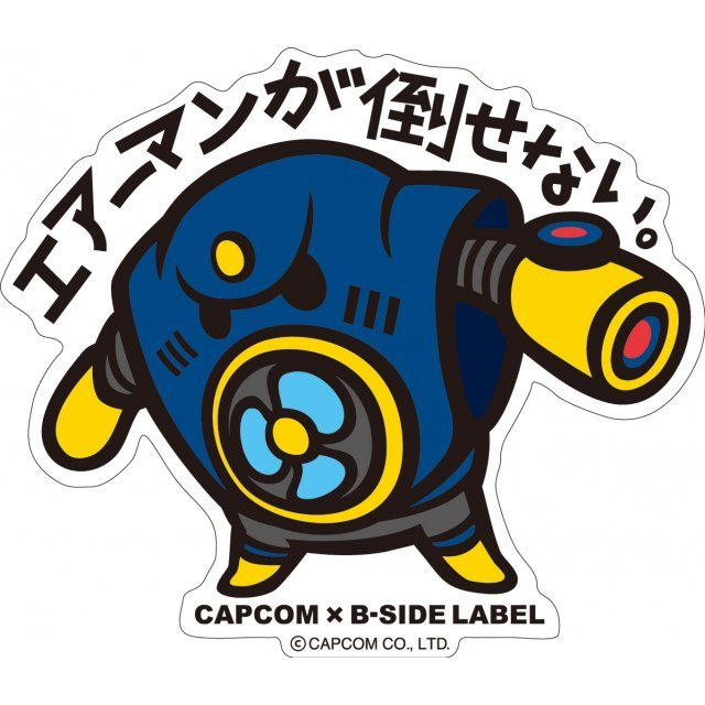 CAPCOM x B-SIDE LABEL Mega Man Sticker: Airman