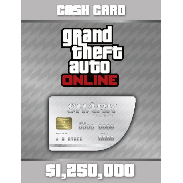 Grand Theft Auto Online: Great White Shark Cash Card (DLC