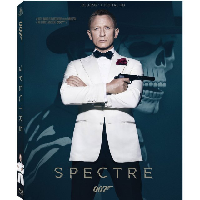 James Bond: Spectre [Blu-ray+Digital Copy+UltraViolet]