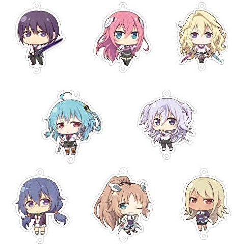 The Asterisk War Joint Acrylic Collection -Joicolle- (Set of 8 pieces)