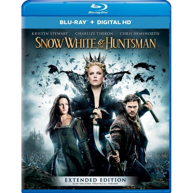 Snow White and the Huntsman (Extended Edition) [Blu-ray+Digital HD]