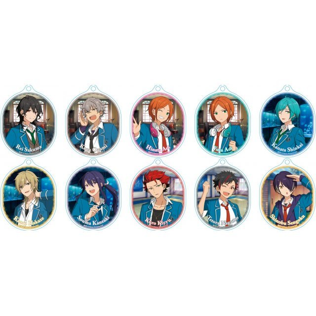 Ensemble Stars! Soft Clear Strap L Collections 3 B (Set of 10 pieces)