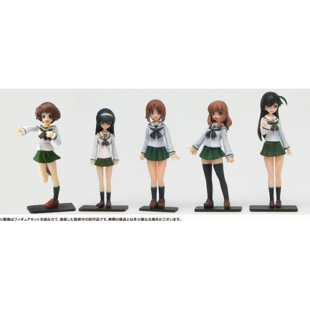 Girls und Panzer 1/35 Scale Resin Kit: Anko Team Figure Set (Re-run)