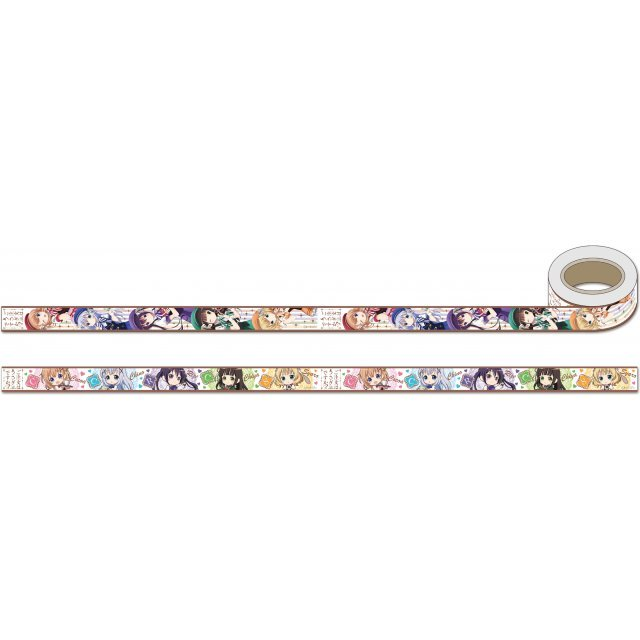 Gochumon wa Usagi Desu ka?? Masking Tape Set B