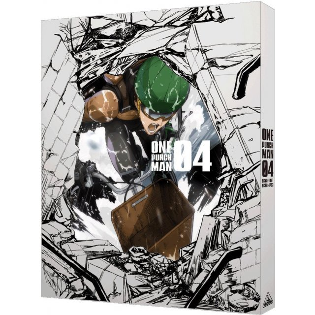 One Punch Man Vol.4 [DVD+CD Limited Edition]