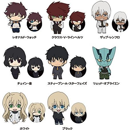 Picktam!: Blood Blockade Battlefront (Set of 8 pieces)