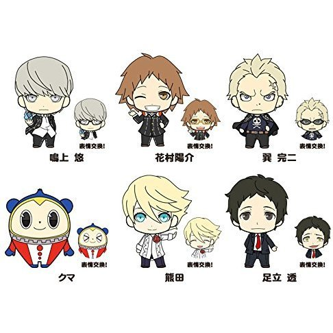 Picktam!: Persona 4 the Golden Boys (Set of 6 pieces)