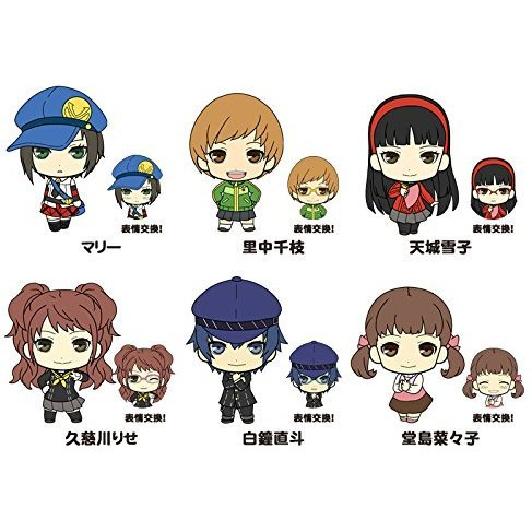 Picktam!: Persona 4 the Golden Girls (Set of 6 pieces)