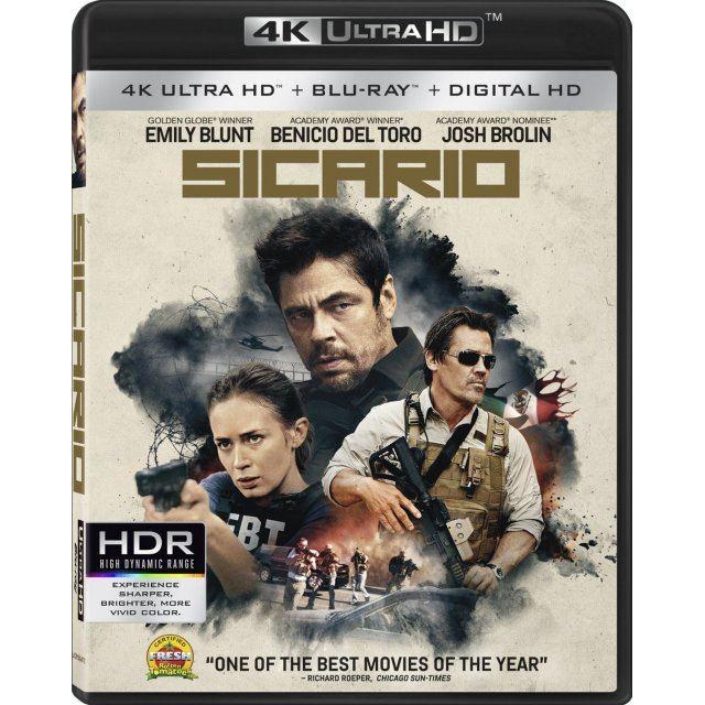 Sicario [4K UHD Blu-ray]