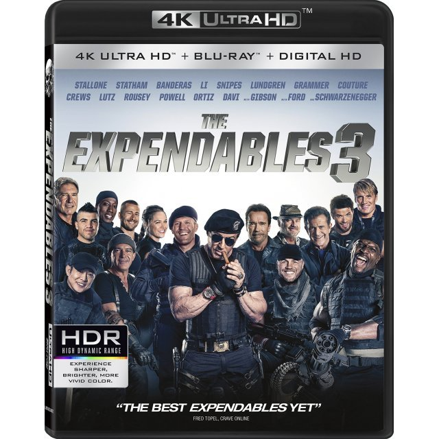 The Expendables 3 [4K UHD Blu-ray]