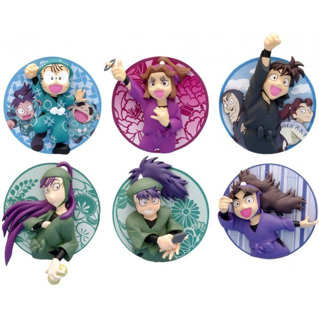 2.5 Jigen Badge Nintama Rantarou (Set of 6 pieces)