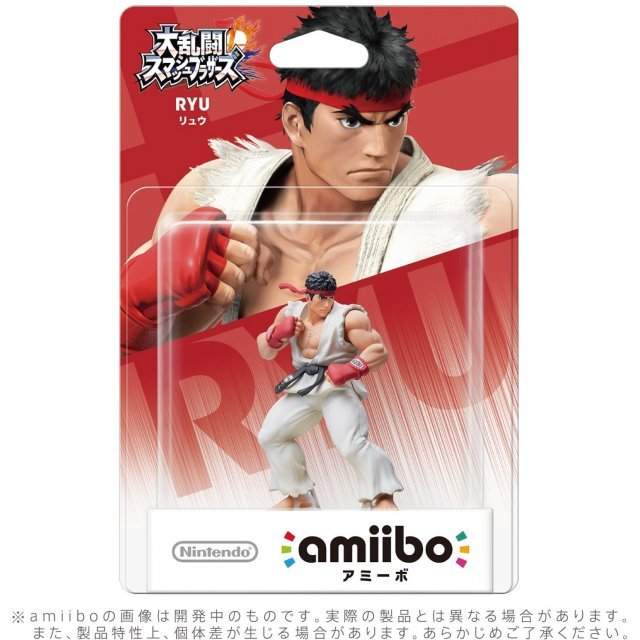 amiibo Super Smash Bros. Series Figure (Ryu) (Re-run)