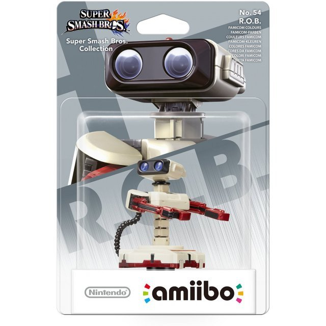 amiibo Super Smash Bros. Series Figure (R.O.B. Famicom Colours)