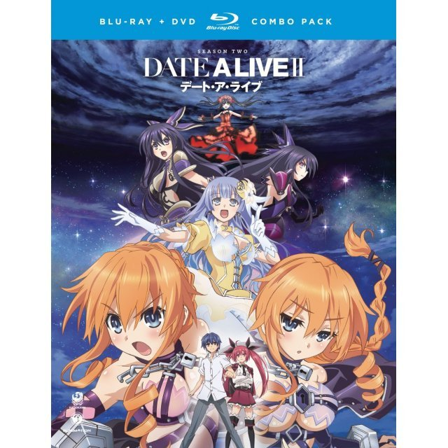 Date A Live: Season Two [Blu-ray+DVD]