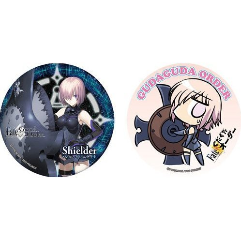 Fate/Grand Order Can Badge Set C: Shielder / Mashu Kyrielite