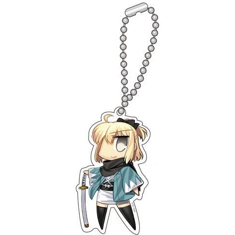 Fate/Grand Order Key Chain: Saber / Souji Okita (Okita)