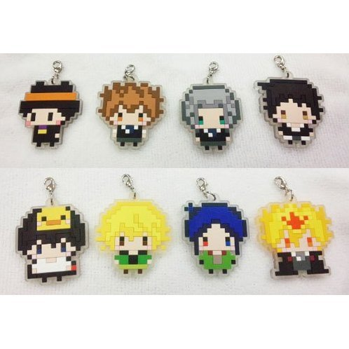 Katekyo Hitman Reborn! 256tan Trading Rubber Strap (Set of 8 pieces) (Re-run)