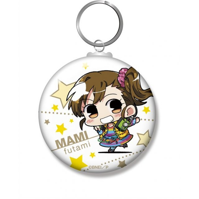 Minicchu The Idolmaster Can Key Chain: Futami Mami