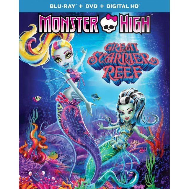 Monster High: Great Scarrier Reef [Blu-ray+DVD+Digital HD]