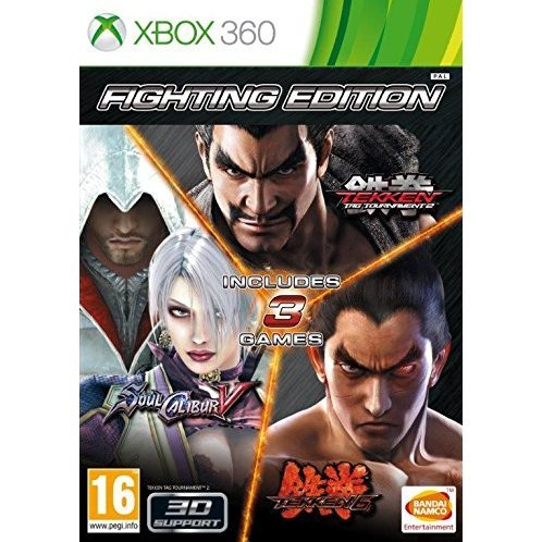 Fighting Edition: Tekken 6 / Tekken Tag Tournament 2 / SoulCalibur V