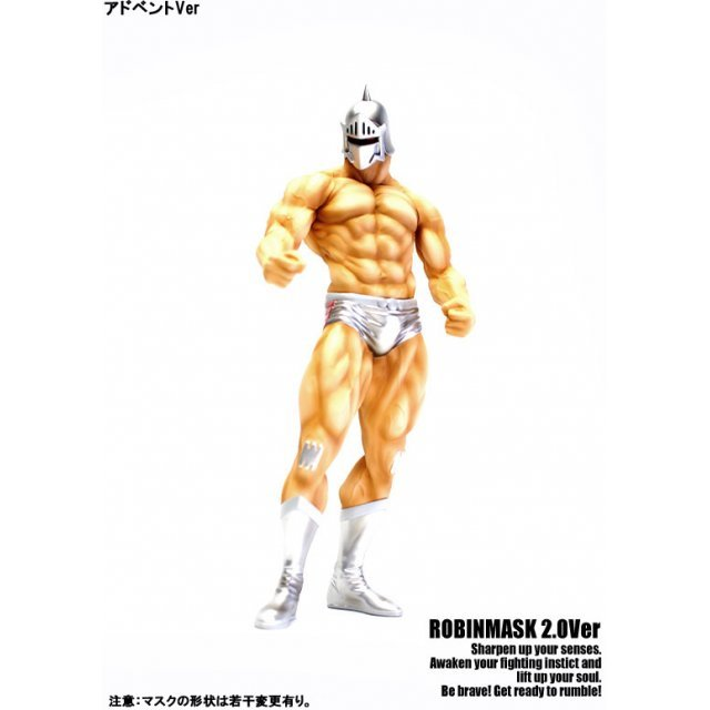 CCP Muscular Collection Vol. DX Kinnikuman: Robin Mask 2.0 20th Chojin Olympic Final Advent Ver. Original Color