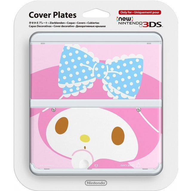 New Nintendo 3DS Cover Plates No.076 (My Melody)