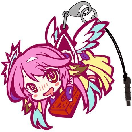 No Game No Life Tsumamare Strap: Jibril (Re-run)