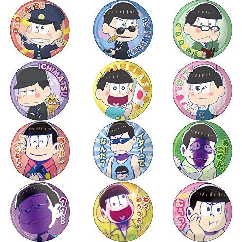 Osomatsu-san Can Clip Badge Vol.2 (Set of 13 pieces)