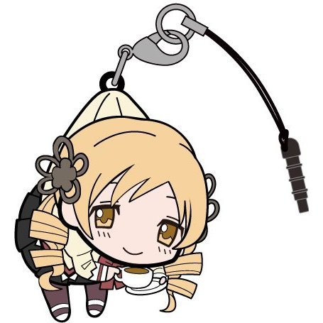 Puella Magi Madoka Magica The Movie Part 3 Rebellion Tsumamare Strap: Tomoe Mami School Uniform Ver.