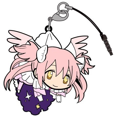 Puella Magi Madoka Magica The Movie Part 3 Rebellion Tsumamare Strap: Ultimate Madoka