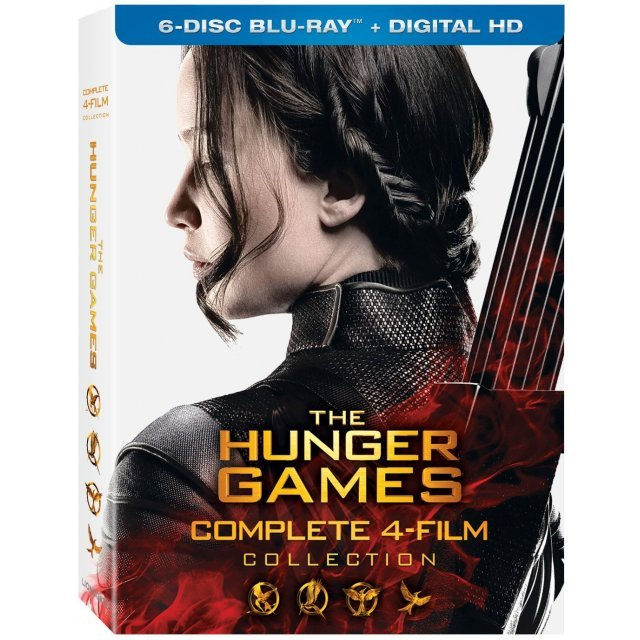 The Hunger Games Complete 4-Film Collection [Blu-ray+Digital HD]