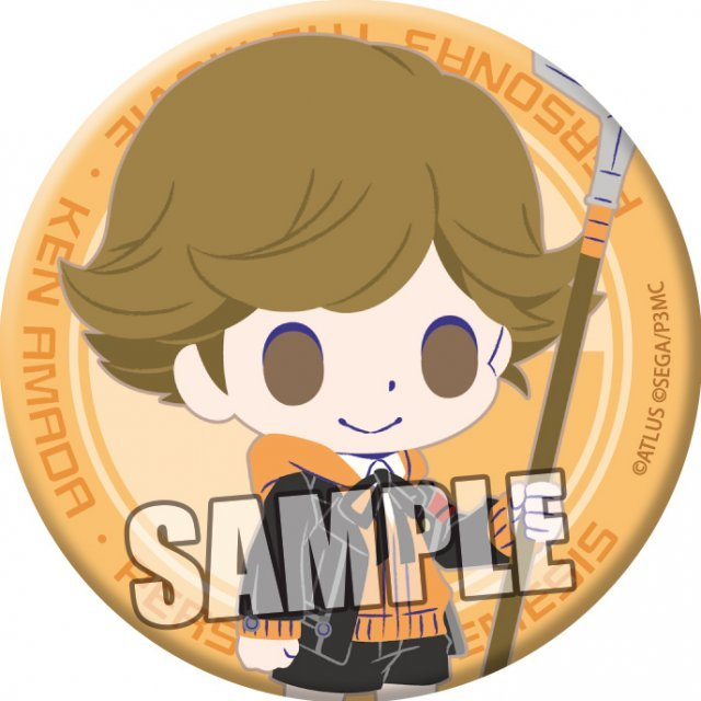 chipicco Persona 3 the Movie Can Badge: Amada Ken