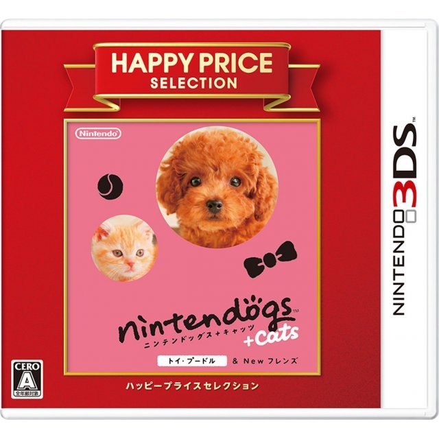 Nintendogs + Cats: Toy Poodle & New Friends (Happy Price Selection)
