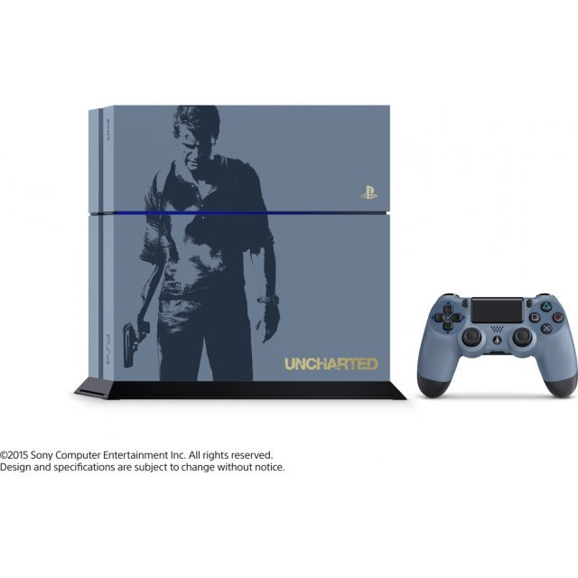 PlayStation 4 System [Uncharted Limited Edition]