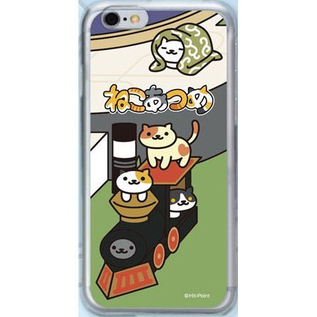 Neko Atsume Smartphone Case Ver. 2 for iPhone6: Locomotive Deluxe
