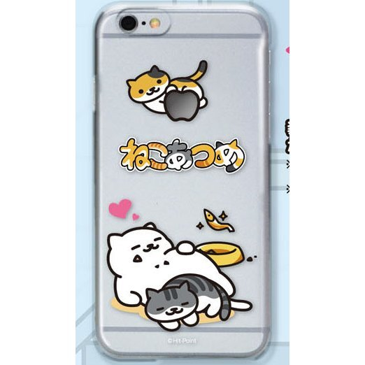 Neko Atsume Smartphone Case Ver. 2 for iPhone6: Manzoku-san Heart