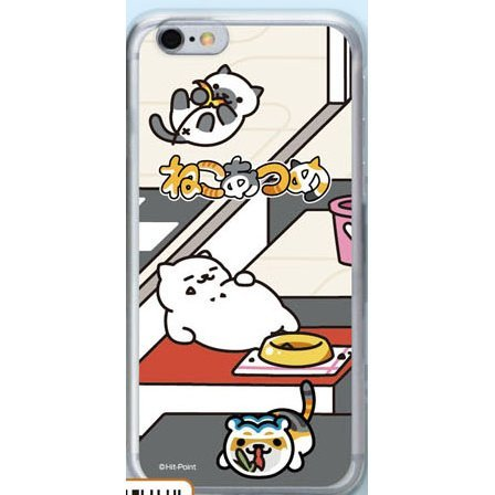 Neko Atsume Smartphone Case Ver. 2 for iPhone6: Manzoku-san Modern Style