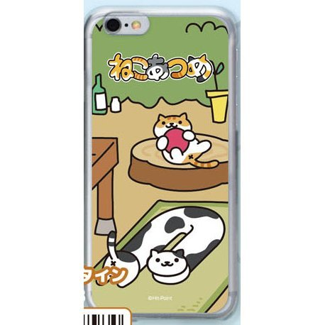 Neko Atsume Smartphone Case Ver. 2 for iPhone6: Tunnel Holstein