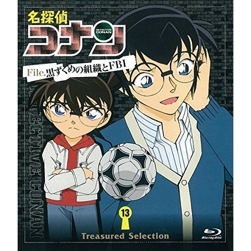Detective Conan Treasured Selection File Kuruzukume No Shoshiki To Fbi 13