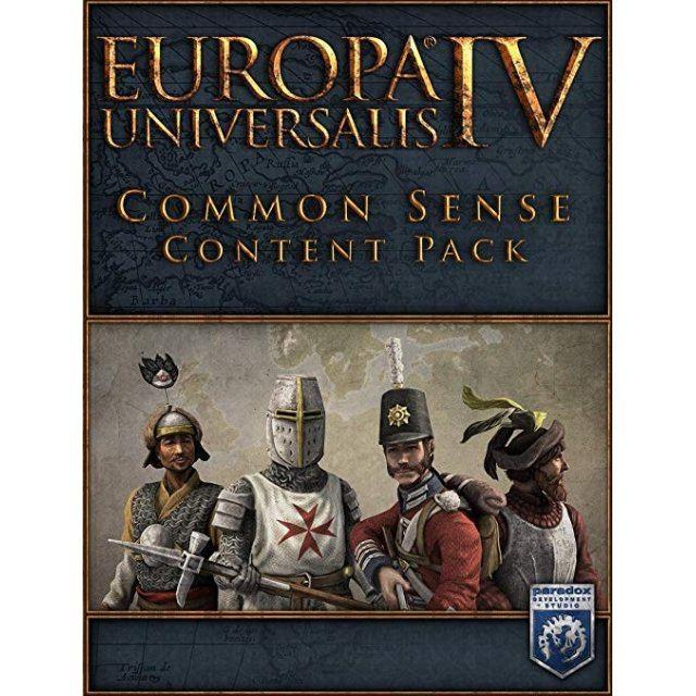 Europa Universalis IV: Common Sense Content Pack (DLC) steam digital