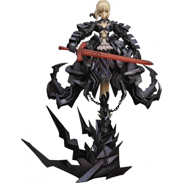 Fate/stay Night 1/7 Scale Pre-Painted Figure: Saber Alter Huke Collaboration Package