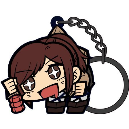 Attack on Titan Tsumamare Key Ring Ver. 2.0: Sasha